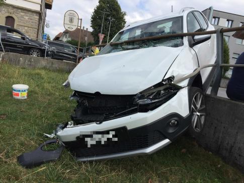Verkehrsunfall in Tafers