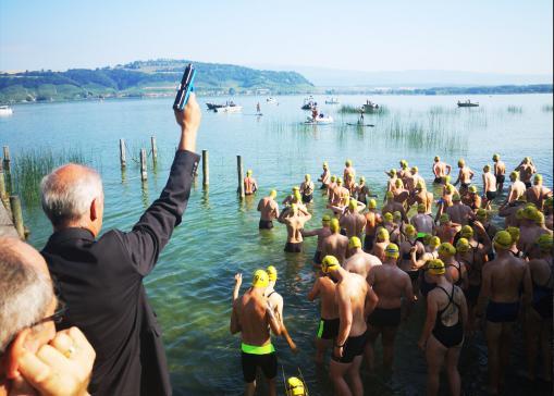 Participation en croissance pour la traversée du lac