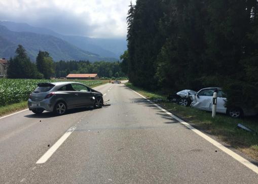 Accident de la circulation à La Tour-de-Trême
