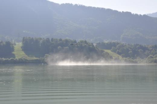 Demande d'intervention de l'armée pour approvisionner certains alpages en eau