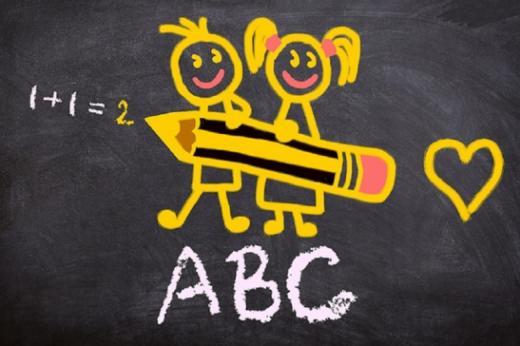 Eine Klasse für neu zugezogene fremdsprachige Schülerinnen und Schüler, die weder lesen noch schreiben können