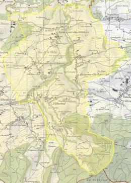 Gibloux (ancienne commune Le Glèbe) en BDMO