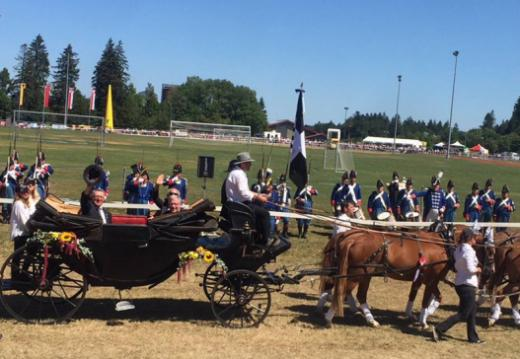 Freiburg versetzte den Marché-Concours national de chevaux in Saignelégier in Schwingung
