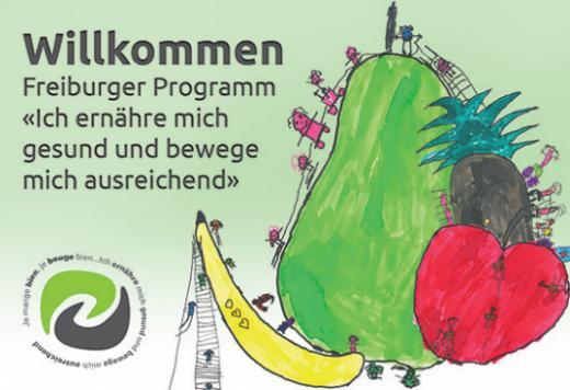 """Programm """"Ich ernähre mich gesund und bewege mich ausreichend"""" GKG"""