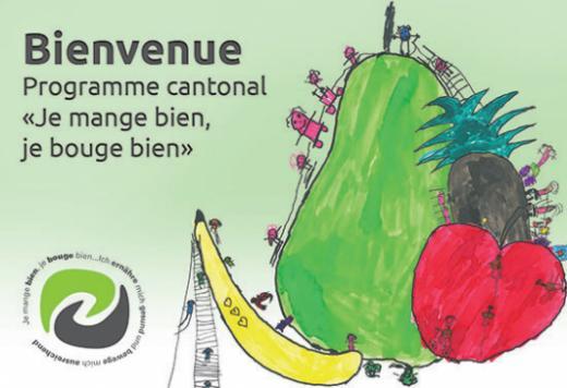 "Programme cantonal ""Je mange bien, je bouge bien"" PCS"