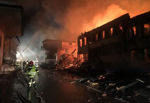 Kartierung der Gefahren als Grundlage für zukünftige Organisation der Feuerwehr