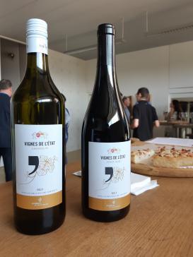Présentation du 1er millésime des vins de l'Etat du Vully vinifiés par le Cru de l'Hôpital