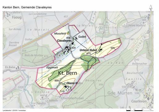 Morat-Clavaleyres : les gouvernements bernois et fribourgeois ont signé le concordat réglant la modification des territoires cantonaux