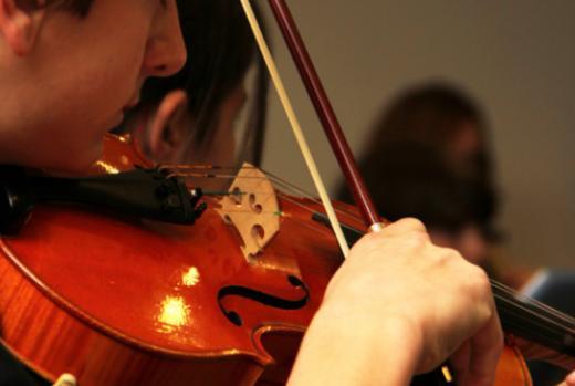 Orchestre des élèves à Fribourg