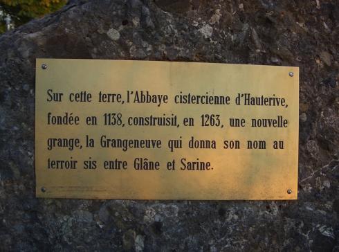 Historique de Grangeneuve