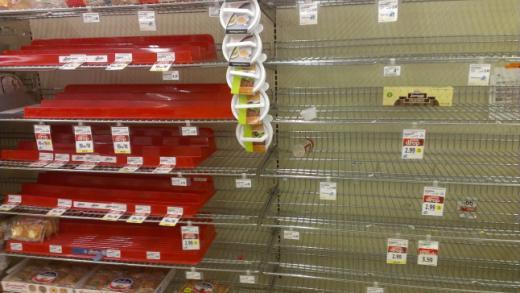 Crises d'approvisionnement