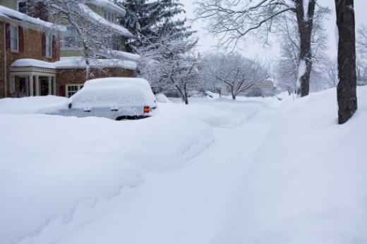 Fortes chutes de neige