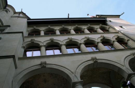 Architektur des Museums für Kunst und Geschichte (MAHF)