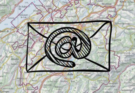 Contact - portail cartographique