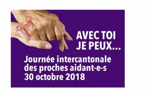 Journée intercantonale des proches aidants du 30 octobre 2018