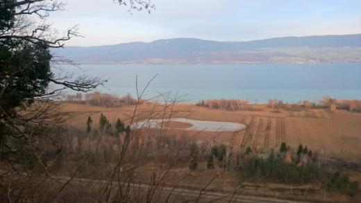 Réserves naturelles sur la rive sud du lac de Neuchâtel