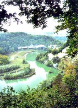 Réserve naturelle du lac de Pérolles