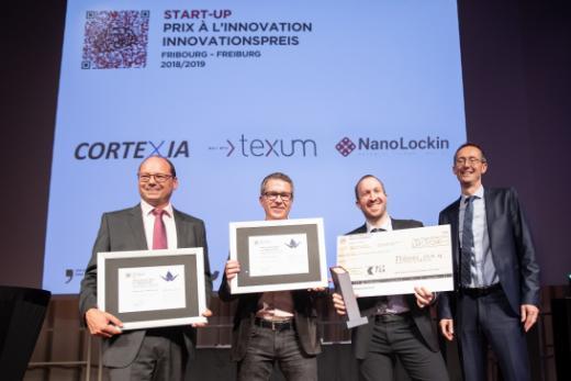 Scott Sports et NanoLockin gagnent le Prix à l'innovation du canton de Fribourg