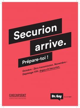 En novembre, le Centre fribourgeois de santé sexuelle CFSS et le Centre Empreinte participent à la campagne Securion organisée par l'Aide Suisse contre le sida