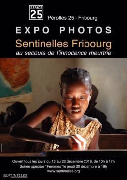 """Expo """"Sentinelles Fribourg"""", au secours de l'enfance meurtrie"""