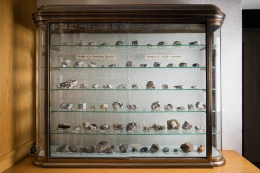 La collection Baumhauer de minéraux du Binntal