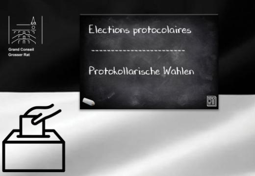 Elections protocolaires