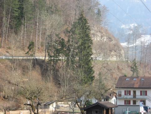 Die Arbeiten für den Ausbau der Kantonsstrasse «En Bataille» in Broc beginnen am 26. November