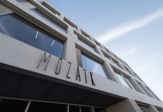 Près de 250 personnes ont assisté aujourd'hui à l'inauguration de Mozaïk, le nouveau bâtiment de la HETS-FR et la HEdS-FR