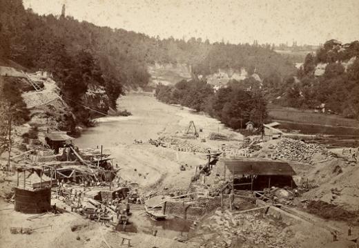La Sarine à Fribourg - 400 ans d'histoire entre la rivière et les Fribourgeois