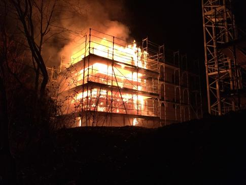 BRAND EINES HAUSES IN ALTERSWIL