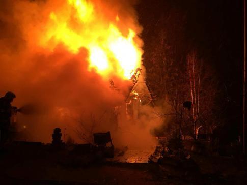 Une habitation détruite par un incendie à Plasselb