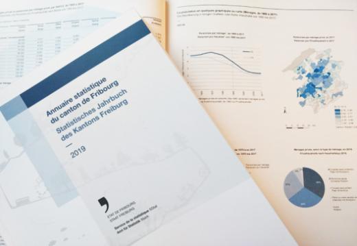 Das statistische Jahrbuch 2019: Die ganze Vielfalt des Kantons Freiburg in einem einzigen Buch