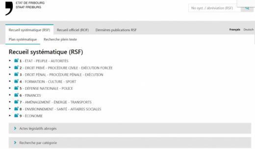 BDLF - Nouvelle présentation du site
