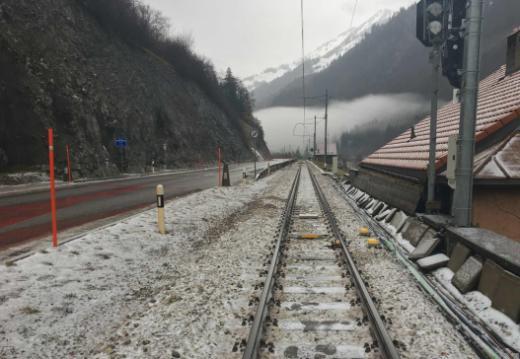 Dégâts sur la voie de chemin de fer à Montbovon – appel à témoins