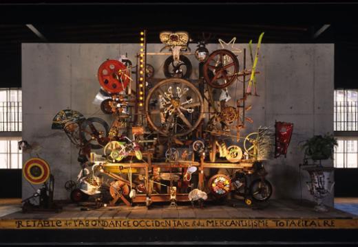 Collection du MAHF exposée à l'Espace Jean Tinguely - Niki de Saint Phalle