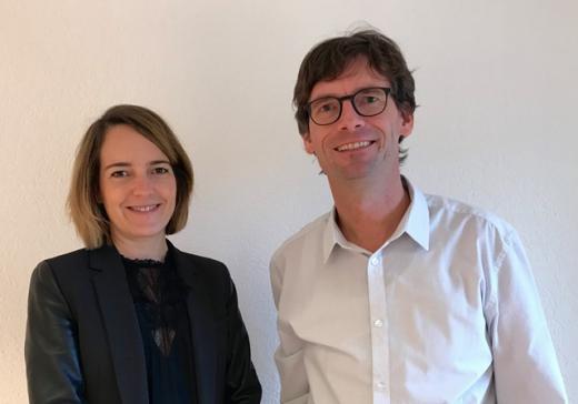 Das Generalsekretariat der Raumplanungs-, Umwelt- und Baudirektion wird neu von Joana de Weck und Martin Leu geleitet