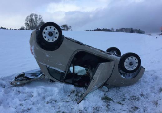 Les premiers flocons de l'année ont créé quelques accidents et perturbations