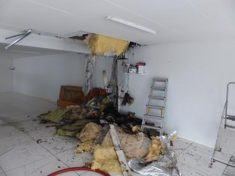 Début d'incendie à Ponthaux / News nur auf französisch