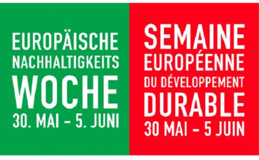 Semaine européenne du développement durable: participez-y!