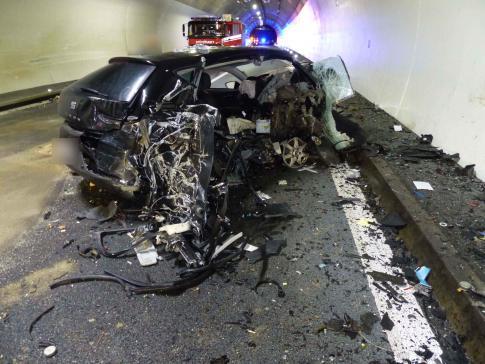 Accident grave suite à une contre-sens sur l'A1 à Courgevaux