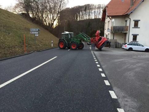 Un grave accident de la circulation à Villarlod / News nur auf Französisch