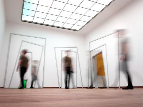 Unterstützung für die Produktion von Ausstellungen, die den bildenden Künsten gewidmet sind