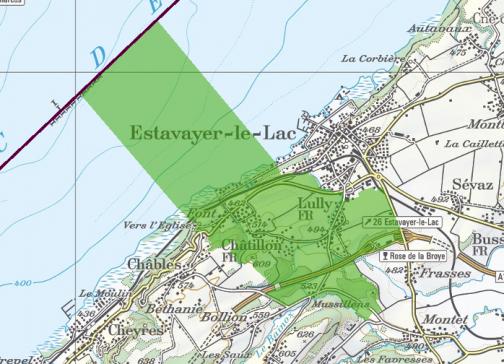 Nouvelle mensuration après remaniement parcellaire de Châtillon-Font-Lully en BDMO