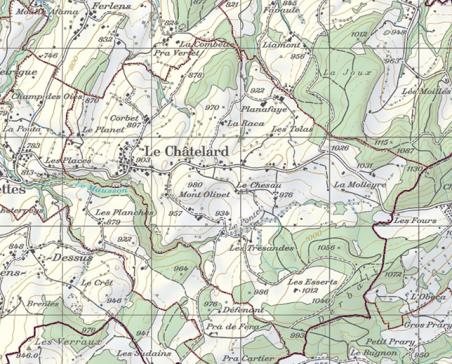 Inkraftsetzung des eidgenössischen Grundbuchs der Gemeinde Le Châtelard