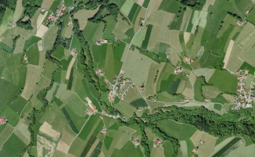 Neue Parzellarvermessung der Gemeinde Le Châtelard