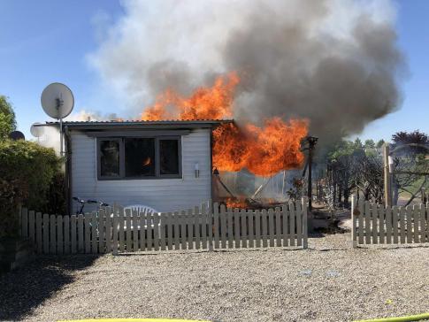 Incendie de deux mobil-homes à Sugiez / News nur auf Französisch