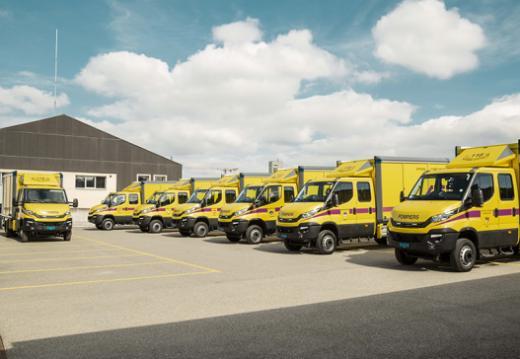 Sieben neue Ölwehrfahrzeuge für die Feuerwehr
