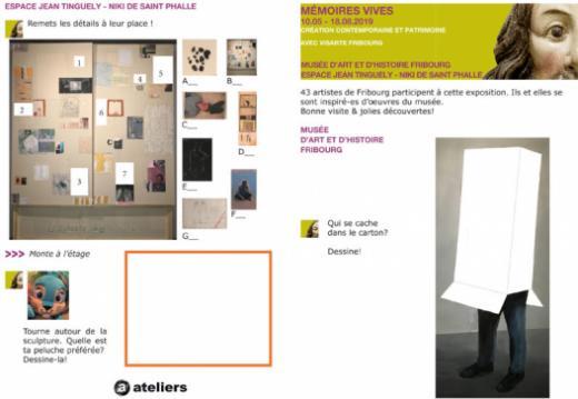 """Exposition """"Mémoires vives"""": médiation culturelle"""