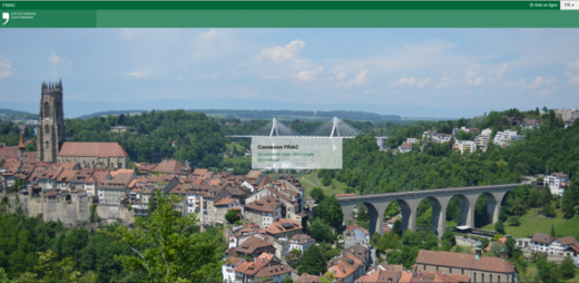 L'application FRIAC se déploie sur l'ensemble du canton de Fribourg