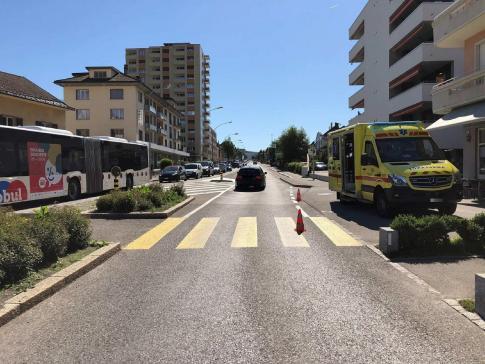 Piéton renversé par une automobile à Bulle / News nur auf Französisch